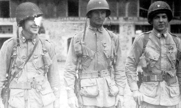 Le Lieutenant Colonel Benjamin.H.VANDERVOORT Vdv210