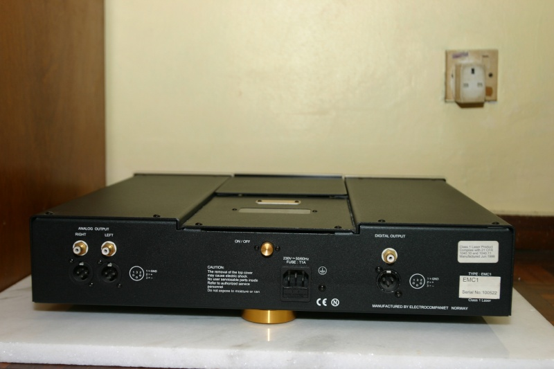 Electrocompaniet EMC1 CD player (Used) Ec_r111