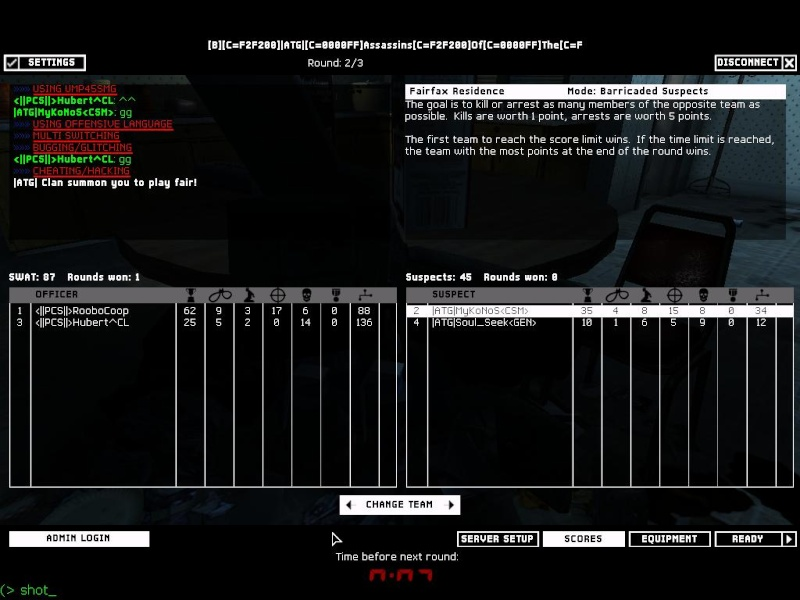 Fun War ATG vs PCS 111110
