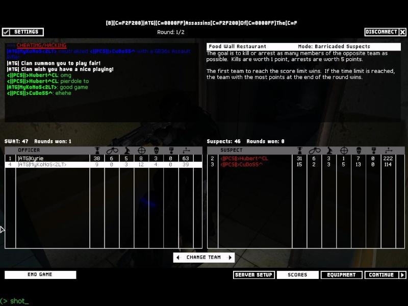 Fun War ATG vs PCS Rund410