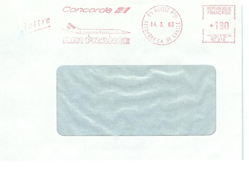 Concorde Post aus Österreich 1711