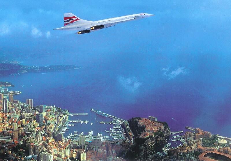 Concorde - Cartophilie 710