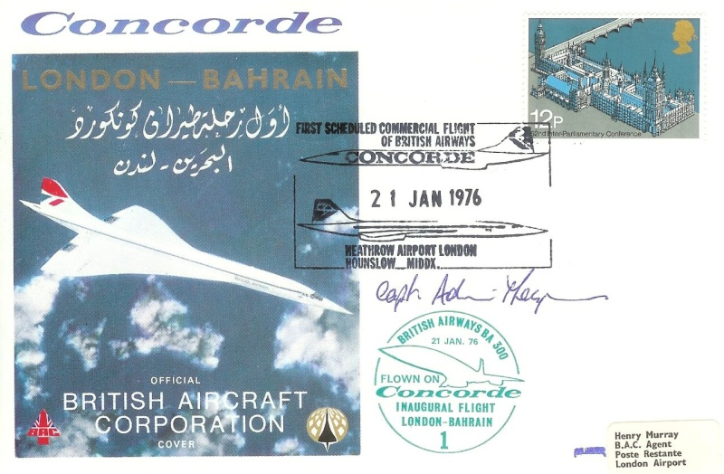 Concorde / London - Bahrain 7_000812