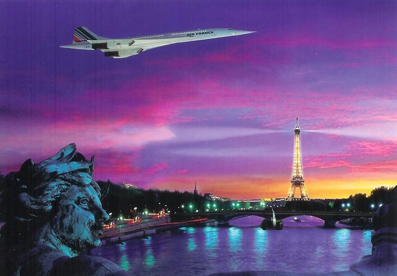 Concorde - Cartophilie 810
