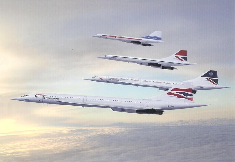 Concorde - Cartophilie 910