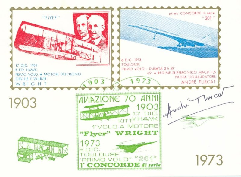 SIGNED BY THE BEST OF THE BEST PILOTS / GROUP TESTPILOTEN Vignet10