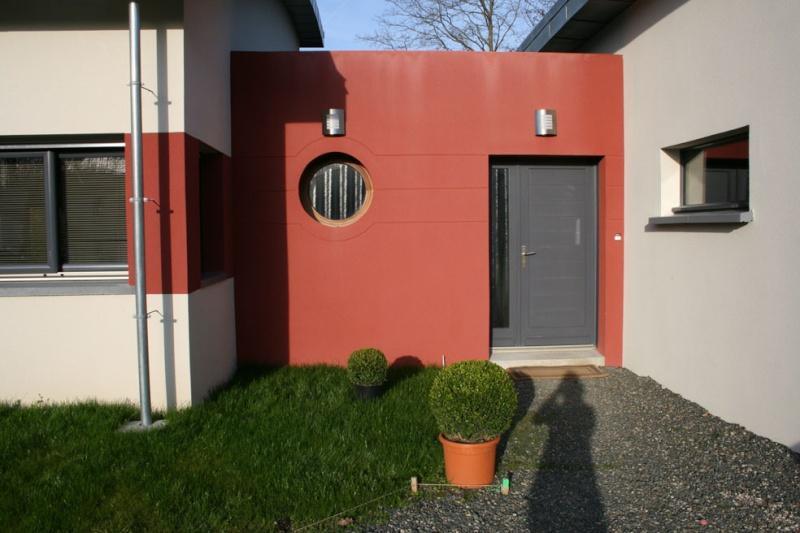 Entrée extéreiure maison contemporaine Entrae11