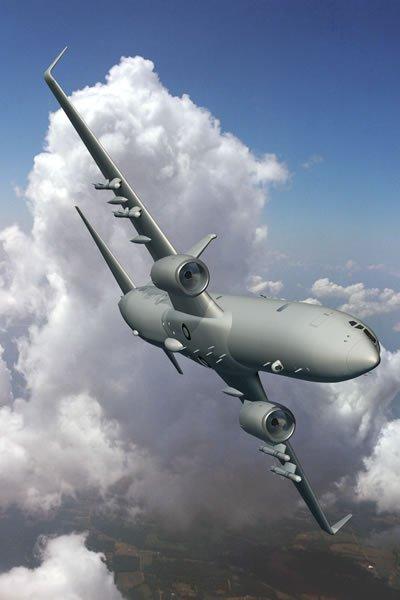 Le Bourget 2009 : Commandes militaires P-8-pi10