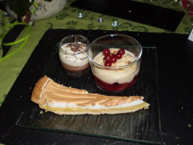 recherche recette dessert pour mon dîner presque parfait^^ Pc310013