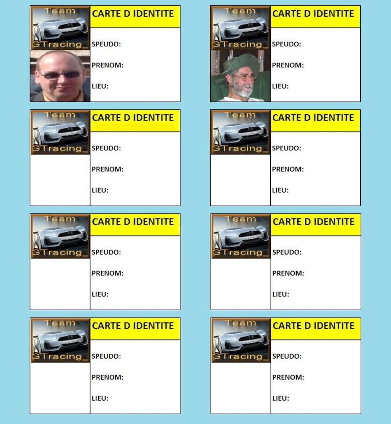 carte d identite GTracing Sans_t81