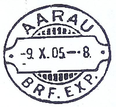 """Der """"Rasierklingenstempel"""" Aarau211"""