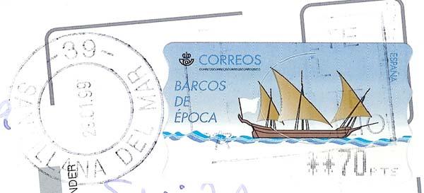 Spanien  -  ATM Atm_sp10