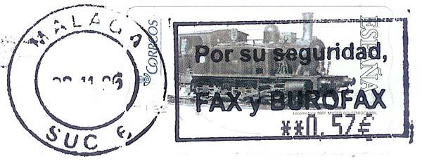 Spanien  -  ATM Atm_sp12