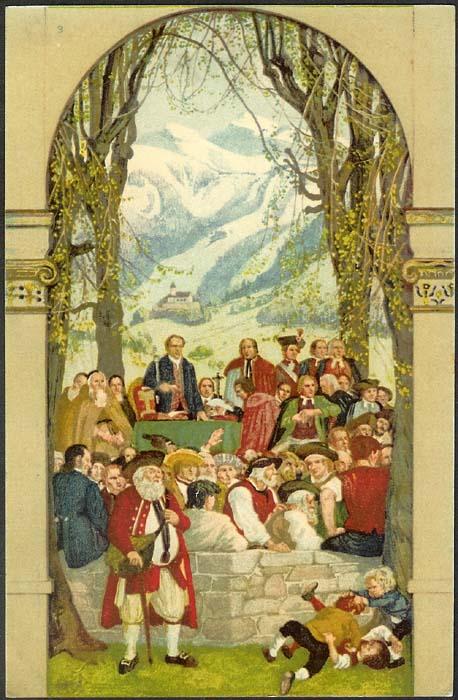 schweiz - Bundesfeierkarten Propat10