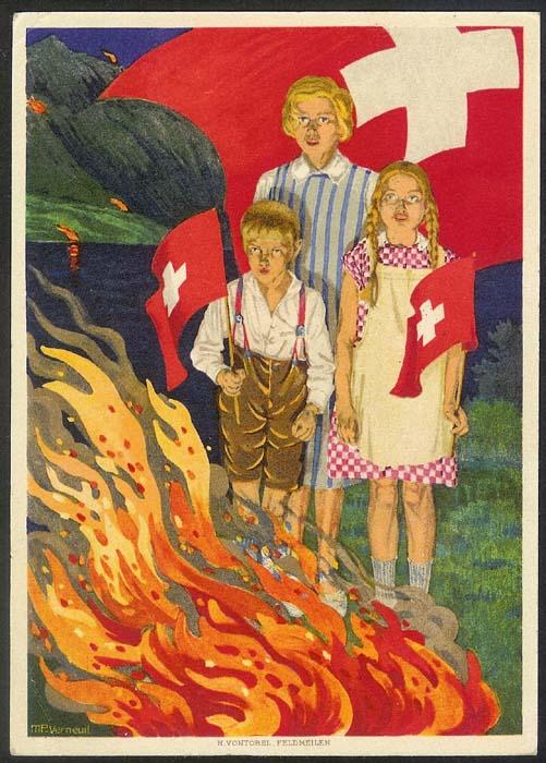 schweiz - Bundesfeierkarten Propat12