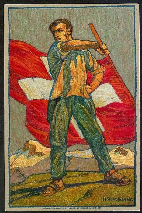 schweiz - Bundesfeierkarten Propat14