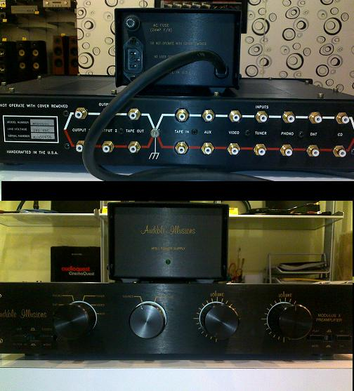 Audible Illusions Modulus 3A preamp (Used) SOLD Audibl10