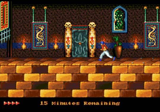 [MegaDrive] Prince of Persia 1030