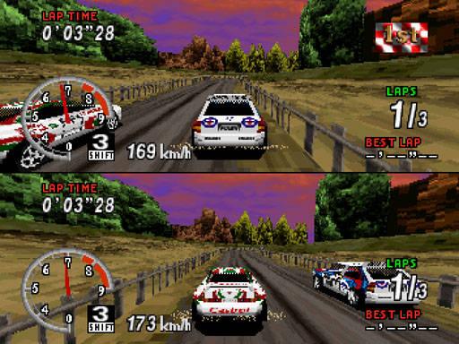 [SATURN] Sega Rally Championship 1052