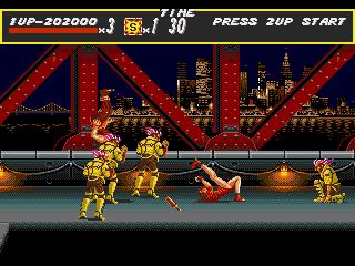 [MegaDrive] Streets of Rage 1116