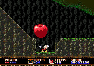 [MegaDrive] Mickey Mouse: Castle of Illusion 113