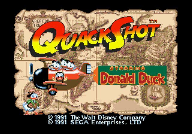 [MegaDrive] Donald Duck: QuackShot 120