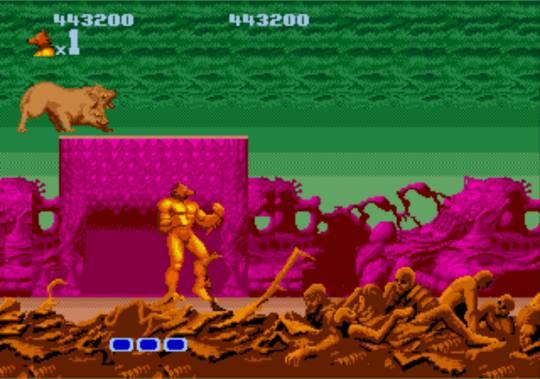 [MegaDrive] Altered Beast 1221