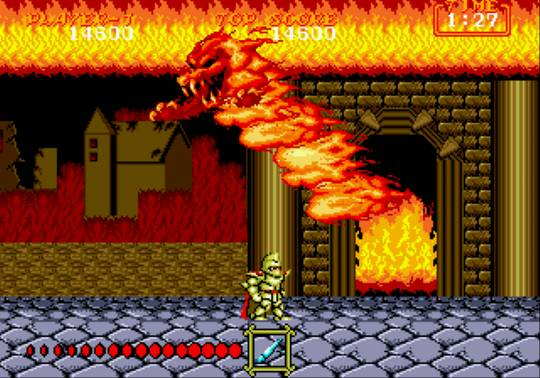 [MegaDrive] Ghouls'n Ghosts 1223