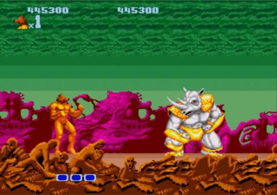 [MegaDrive] Altered Beast 1321
