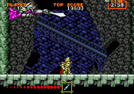 [MegaDrive] Ghouls'n Ghosts 1322