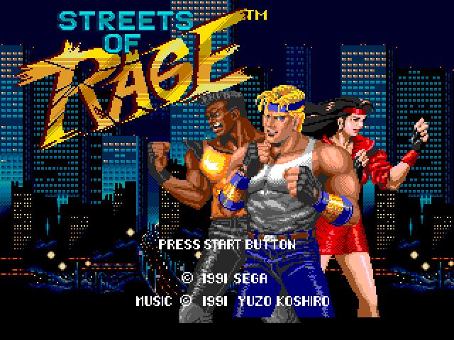 [MegaDrive] Streets of Rage 135