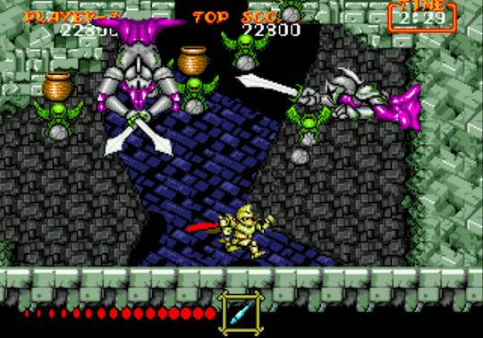 [MegaDrive] Ghouls'n Ghosts 1419