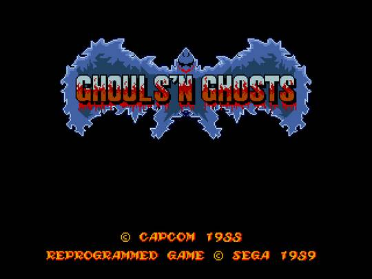 [MegaDrive] Ghouls'n Ghosts 176