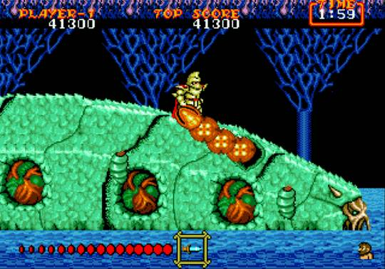 [MegaDrive] Ghouls'n Ghosts 1914