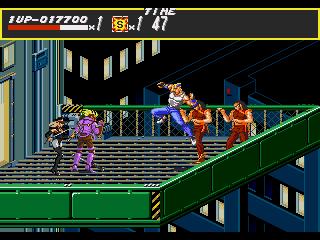 [MegaDrive] Streets of Rage 2111