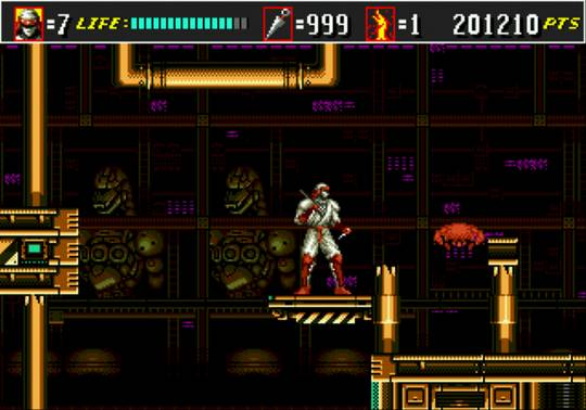 [MegaDrive] Shinobi III: Return of the Ninja Master 2116