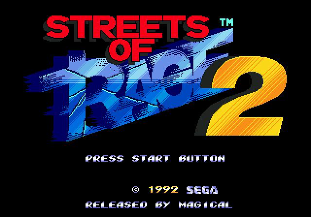 [MegaDrive] Streets of Rage 2 231