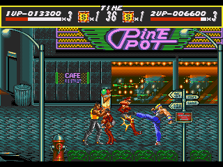 [MegaDrive] Streets of Rage 235