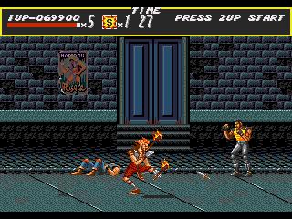 [MegaDrive] Streets of Rage 236