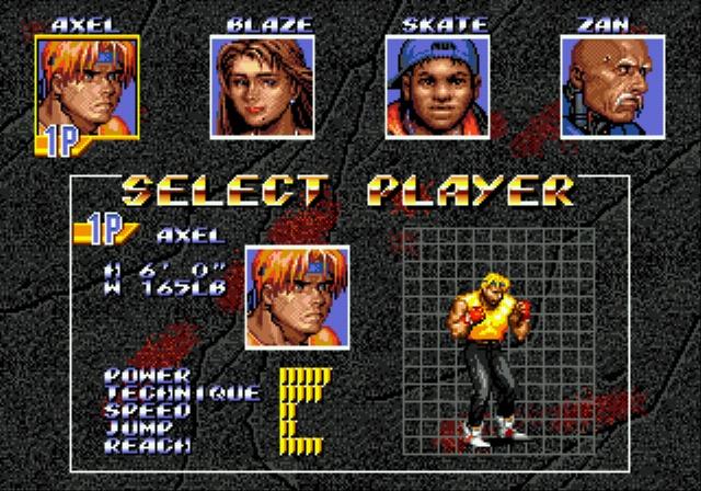 [MegaDrive] Streets of Rage 3 237