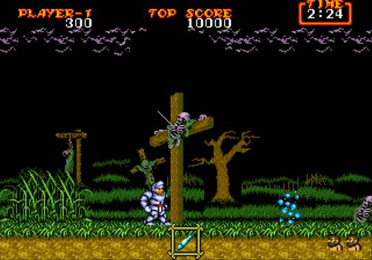 [MegaDrive] Ghouls'n Ghosts 271