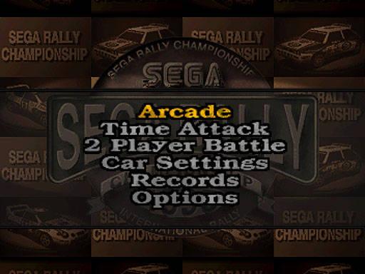 [SATURN] Sega Rally Championship 288