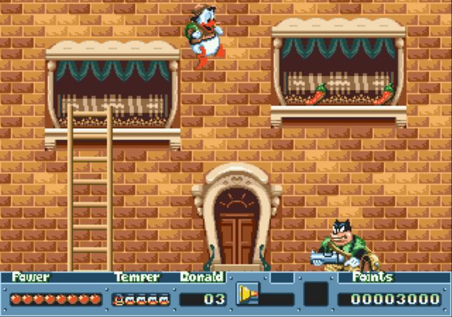 [MegaDrive] Donald Duck: QuackShot 317