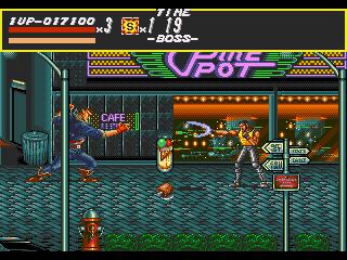 [MegaDrive] Streets of Rage 328