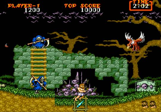[MegaDrive] Ghouls'n Ghosts 360