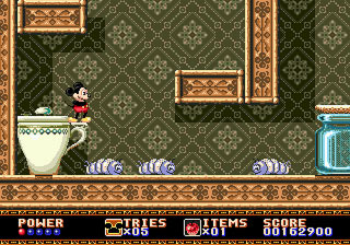 [MegaDrive] Mickey Mouse: Castle of Illusion 412