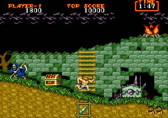 [MegaDrive] Ghouls'n Ghosts 455