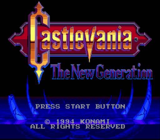 [MegaDrive] Castlevania : The New Generation 460