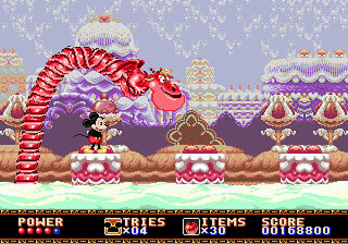 [MegaDrive] Mickey Mouse: Castle of Illusion 511