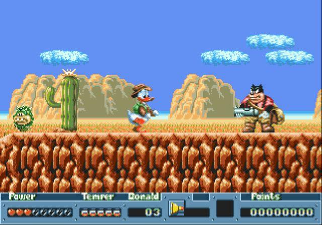 [MegaDrive] Donald Duck: QuackShot 515